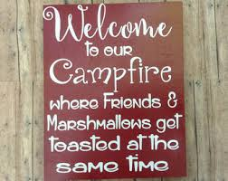 Fire Pit Signs by Porch Fire Pit Etsy