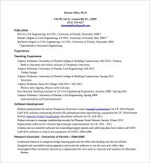 Sample Resume For Experienced Assistant Professor In Engineering College by Carpenter Resume Template U2013 8 Free Word Excel Pdf Format