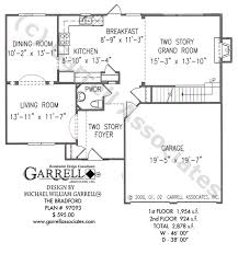 bradford floor plan bradford house plan house plans by garrell associates inc