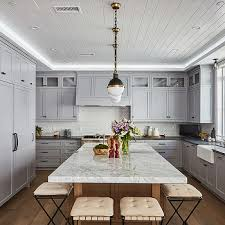 flamed black granite countertops transitional kitchen