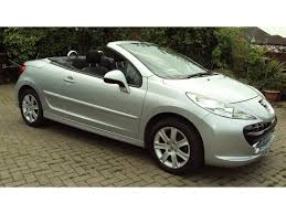 peugeot 2 door car used peugeot 207 cc convertible 1 6 16v sport 2dr in leicester