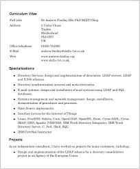 free printable resumes templates pdf resume templates free printable sle sles format for