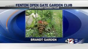 Club Summer Garden - first at four focus open gate garden club summer garden tour