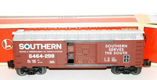 box car train buy lionel 6 29214 southern railway 6464 298 box car serves the