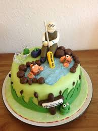 36 best fishing cake images on pinterest fishing cakes cake