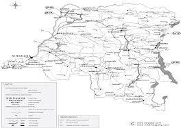Republic Of Congo Map 2 Democratic Republic Of Congo Logistics Infrastructure