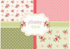 free vector shabby chic roses patterns 127450 welovesolo