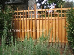 diy arbor fence hammer like a girlhammer like a