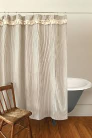 White Lace Shower Curtain by Canvas Drop Cloth Curtains Cotton Duck Shower Curtain Natural