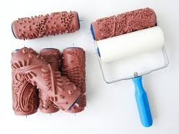 pattern paint roller foam applicator for patterned paint roller painttern