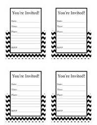 printable birthday invites printable invitations