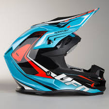 ufo motocross helmet ufo onyx speeder helmet black blue red quick dispatch 24mx