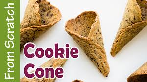 chocolate chip cookie cone recipe and tutorial ashlee marie