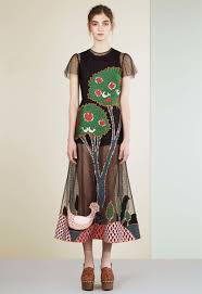 red valentino spring 2018 ready to wear collection vogue