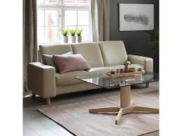Sofa Back Table by Stressless By Ekornes Stressless Pause 3 Seat Low Back Sofa With