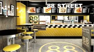 fast food restaurant kitchen design youtube