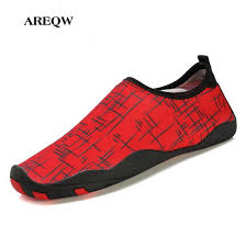 aliexpress help areqw 2017 summer couples fitness shoes low to help beach swim shoes