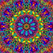 calamity kaleidoscope mandala crayons fractals
