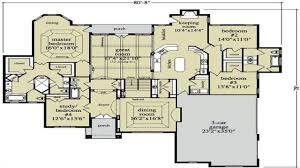 Floor Plans For One Story Homes Luxury Ranch Home Floor Plans Ranch House Plan First Floor 026d