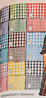 check vs plaid 1950s fabrics colors in fashion