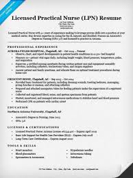 Professional Experience Resume Examples by Licensed Practical Nurse Lpn Resume Sample U0026 Tips Resume Companion