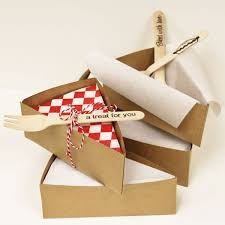 personalized pie boxes brown kraft pie slice box pie boxes cardboard cake slice carer
