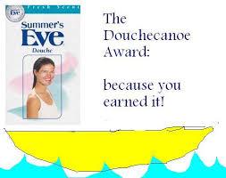 Douche Canoe Meme - the anti awards aliceatwonderland