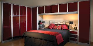 Contemporary Fitted Bedroom Furniture Elegant Fitted Bedroom Ideas With Maple Wardrobes Furniture