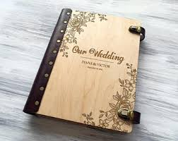 personalized album custom wedding album etsy
