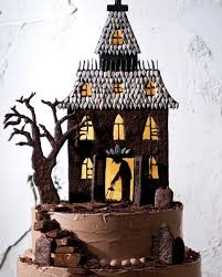 spooky house halloween halloween cakes and dessert recipes martha stewart