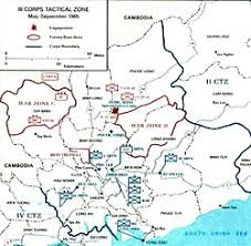 in the Vietnam War   Wikipedia Wikipedia The III Corps tactical area  including Saigon  Bi  n H  a  Zone D  and other sites of importance in the Vietnam War