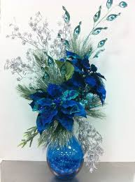Blue Christmas Decorations Pictures by Best 25 Peacock Christmas Decorations Ideas On Pinterest