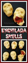 enchilada skulls festive dinner for a day of the dead or