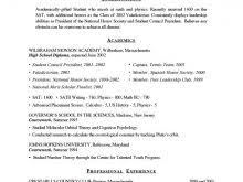 resume for college applications resume format for college applications free resume