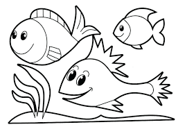 coloring pages about fish coloring page fish yodatomato info