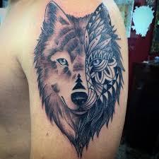 wolf indian tattoos designs 21 wolf tribal tattoo designs ideas design trends premium