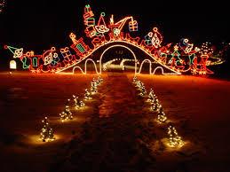 Chickasha Lights Top Christmas Lights U0026 Events In Okc Metro Bestoklahomahomes Com