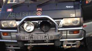 mitsubishi delica for sale mitsubishi delica l300 4d56 2 5l turbo diesel engine swap for sale