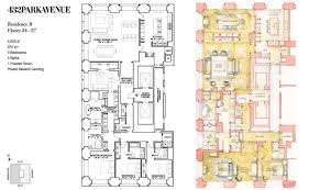 432 park avenue floor plans new york usa see how atelier co would transform this 432 park unit into a