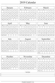 thanksgiving 2019 annual calendar 2019 portrait printable calendar 2017 2018 2019