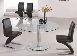 Large Glass Dining Tables Large Round Glass Dining Table Best Dining Table Ideas