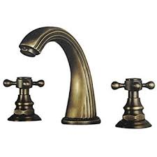 Lightinthebox Two Handle Polished Brass Traditional Ceramic Valve Antique Brass Bathroom Fixtures