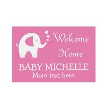 welcome home baby shower welcome home baby shower yard sign with elephant zazzle