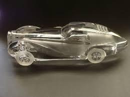 coupe papier design my daum crystal automobile collection