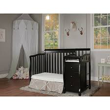 white mini crib with changing table amazon com dream on me jayden 4 in 1 convertible portable minicrib