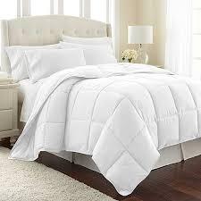 buy bellerose goose alternative comforter duvet insert white
