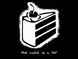 Cake Is A Lie Meme - the cake is a lie gaming meme history youtube