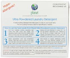 What Temperature Water Do You Wash Colors In - planet ultra powdered laundry detergent 64 ounce 10 pack amazon
