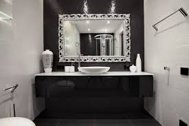 black and white bathroom decorating ideas black white bathroom accessories white laminated wooden base