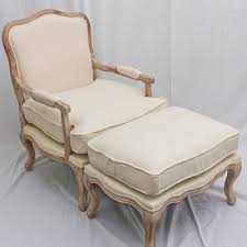 French Style Ottoman by French Provincial Style Louis Xv Arm Chair Sofa With Ottoman
